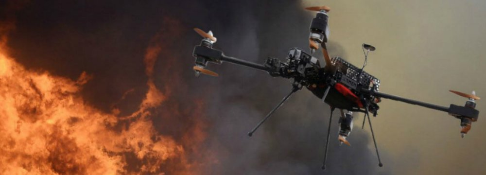 Iranian Firefighting Drone