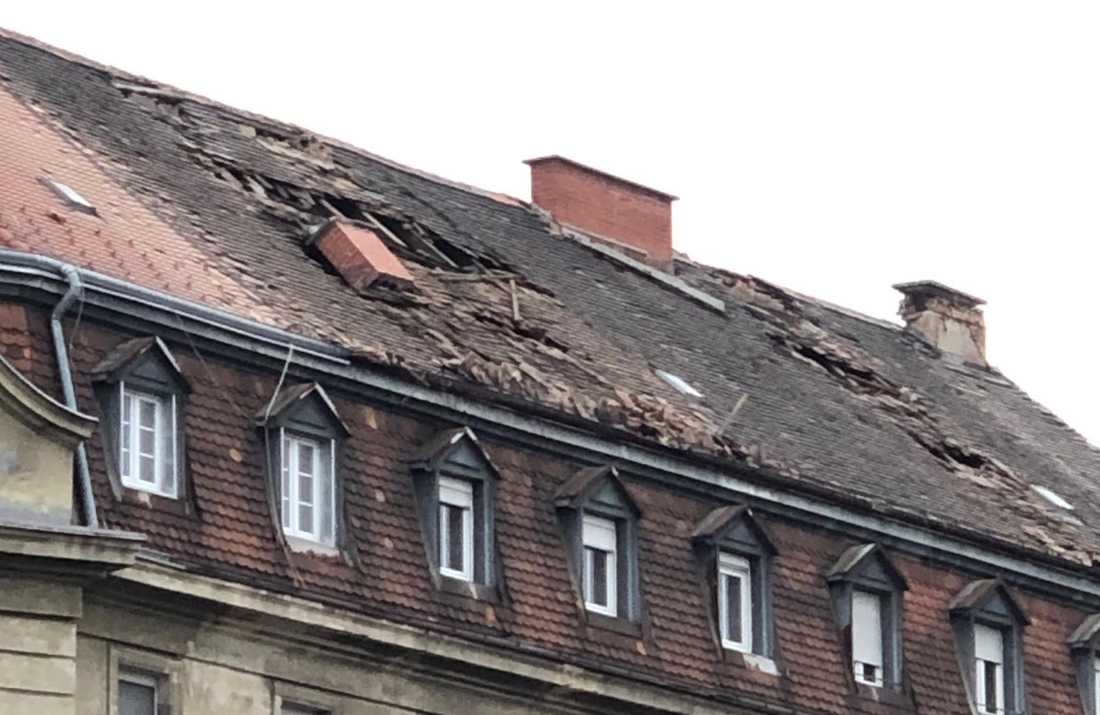Material damage during Sunday´s earthquake in Croatia. Photo: Private