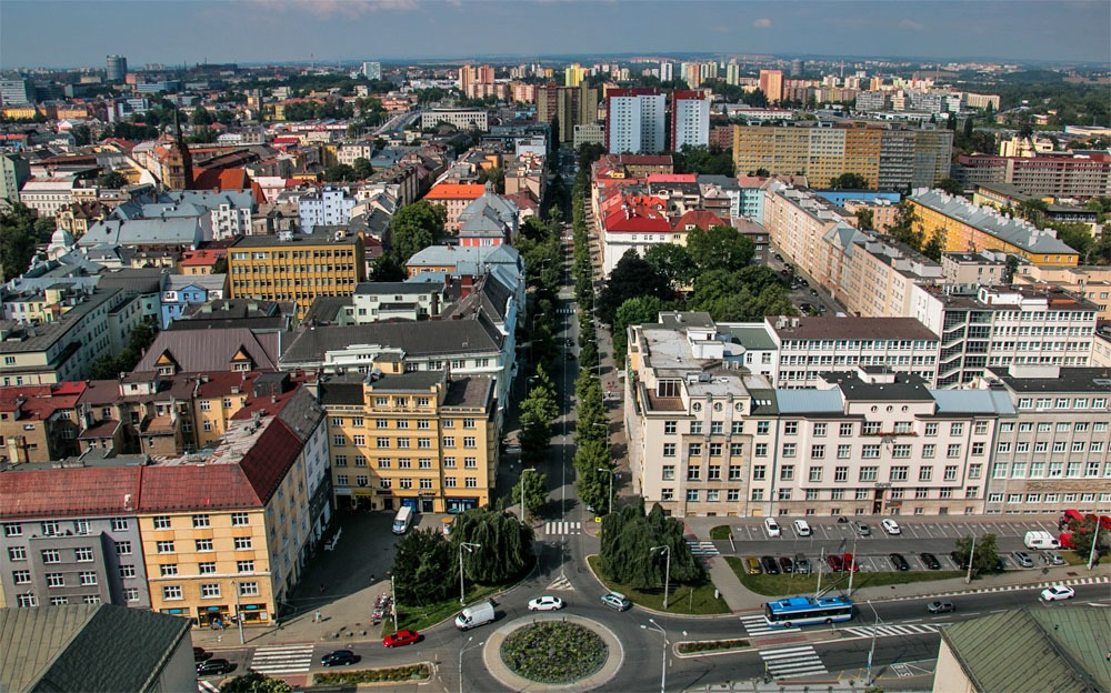 Ostrava from above