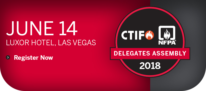 Delegates Assembly Las Vegas Register Now banner