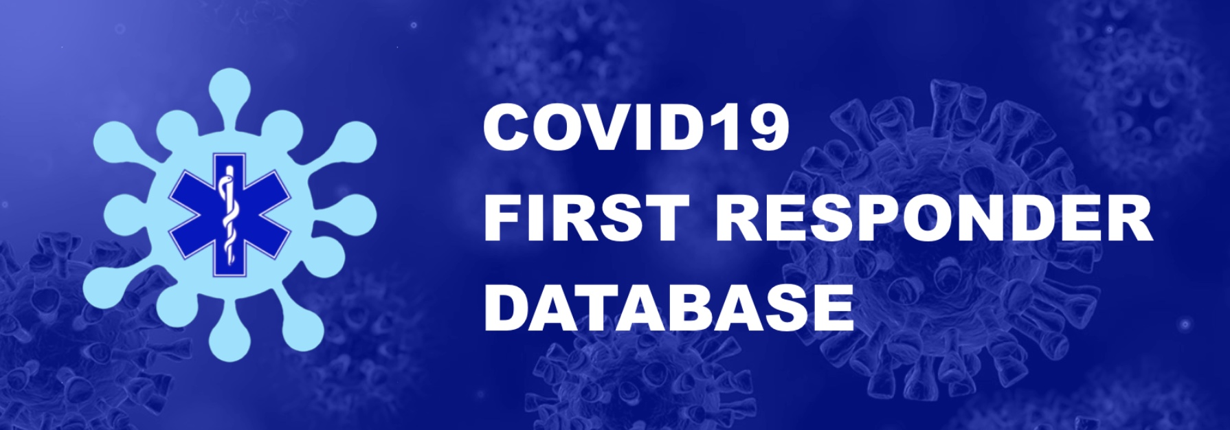 Logo First Responder Covid Data Base