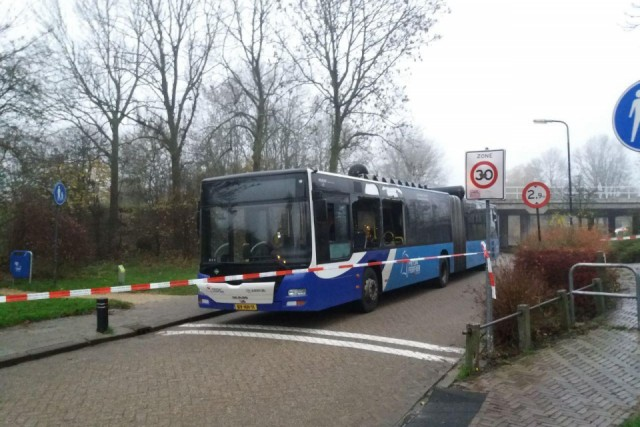 Dutch bio gas bus