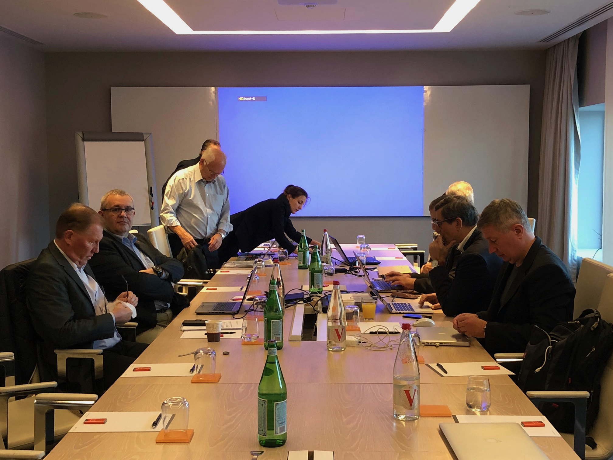 Executive Committé meeting in Brussels, 2018. Photo Bjorn Ulfsson