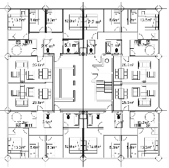 Floorplan for the Greenfell Tower