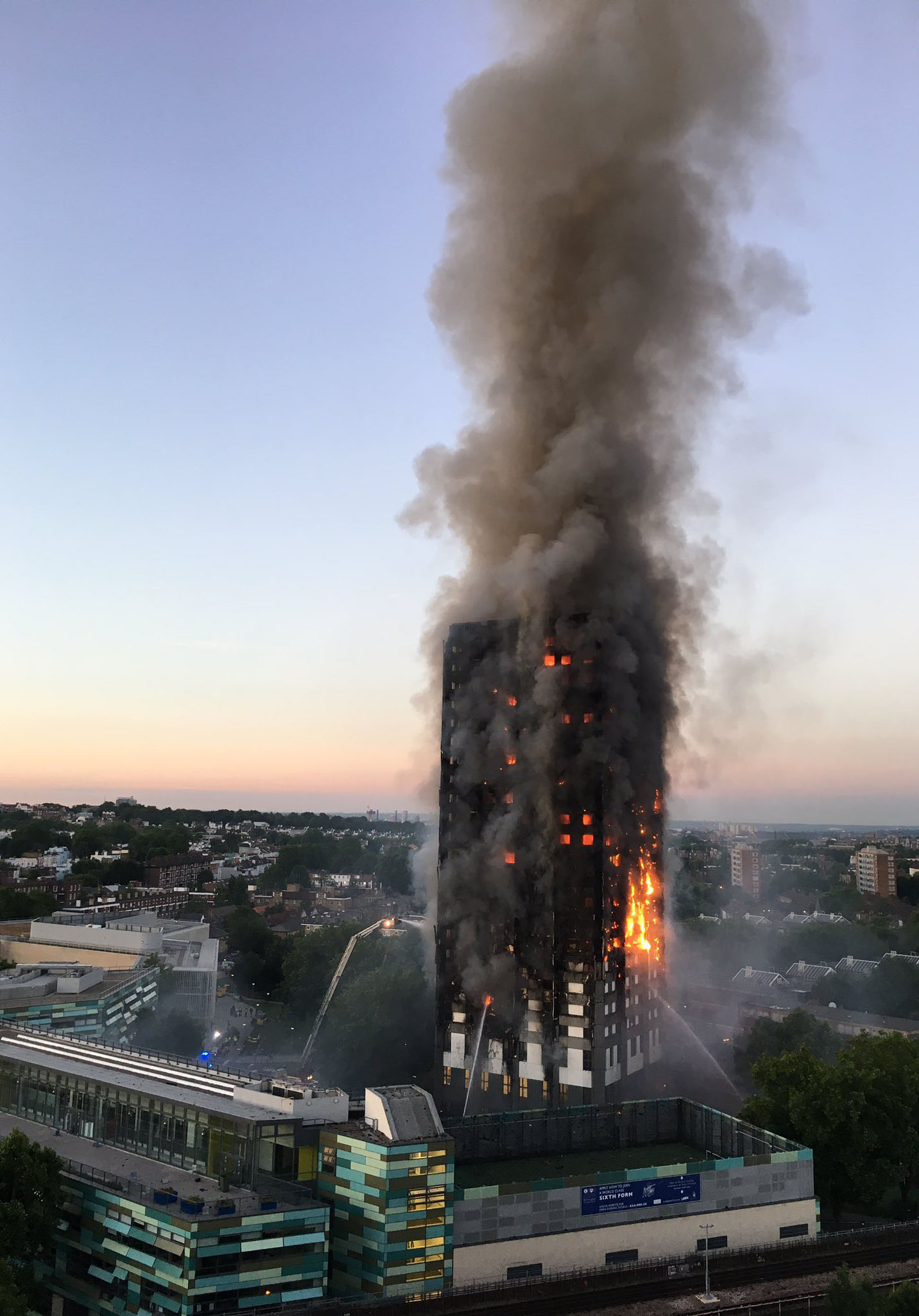 Grenfell Tower. Photo: Wikipedia