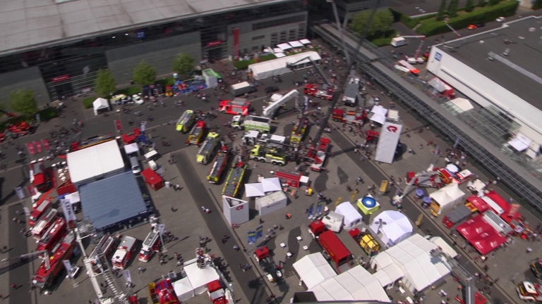 Interschutz from above