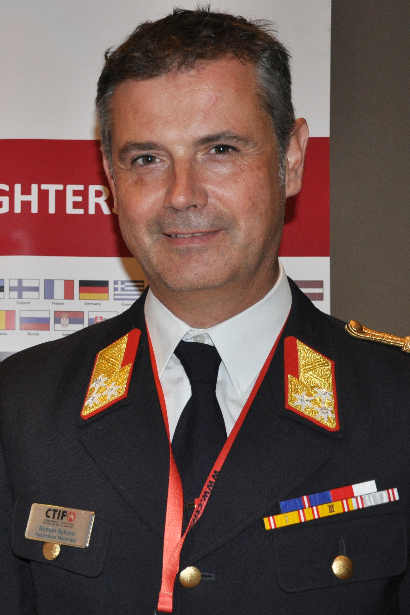 Roman Sykora, General Secretary of CTIF since July 2019.