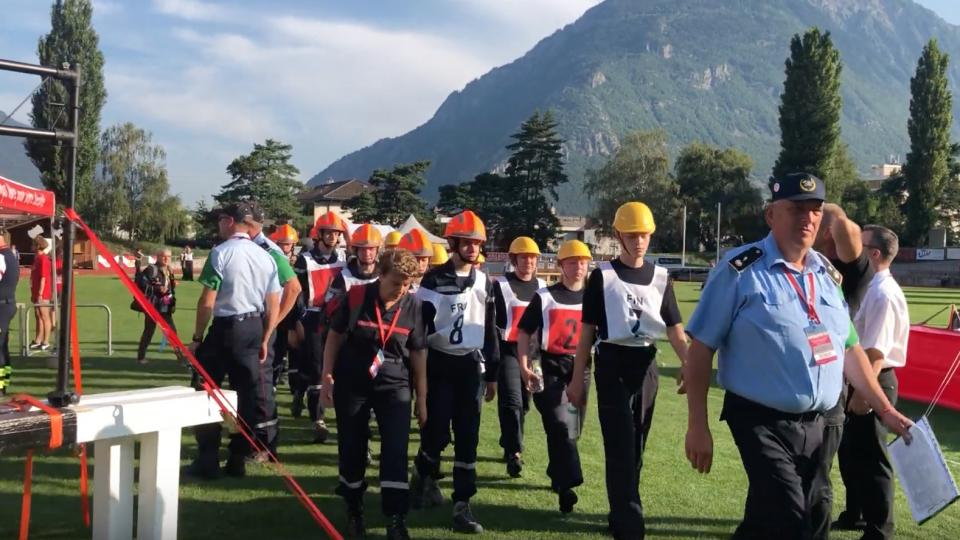 CTIF youth games in Martigny, Switzerland, 2019. Photo by Björn Ulfsson / CTIF News