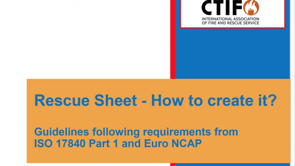 Rescue sheet - how to create - header