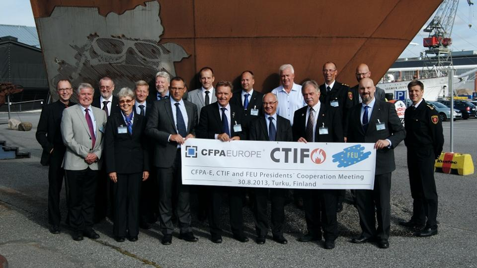 Strenghtening the european citizens safety and security through co-operation CFPA-E, CTIF and FEU presidents cooperation meeting