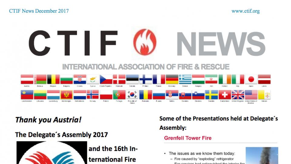 CTIF News Fall 2017 screenshot