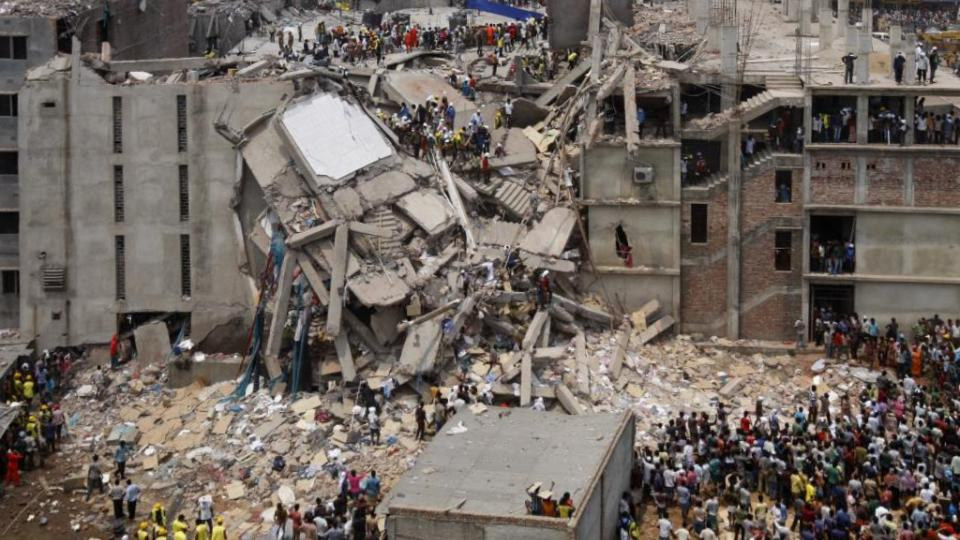 By rijans - Flickr: Dhaka Savar Building Collapse