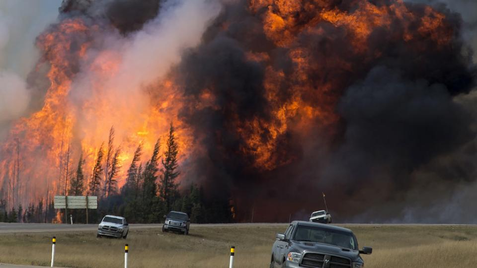 The Fort McMurray wildfire. Photo: Wikipedia