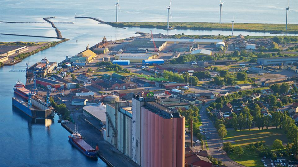 The Port of Falkenberg