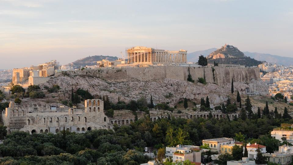 View of Acropolis in Athens. Photo: Wikipedia