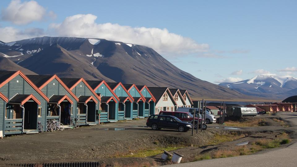 Longyearbyen, Svalbard. Photo by Pixabay.com