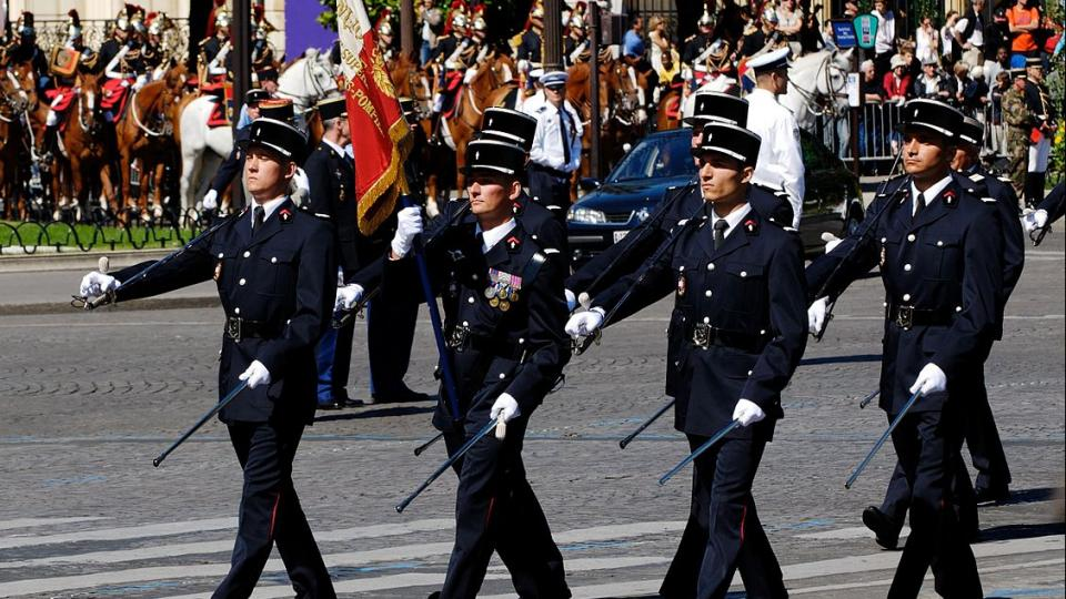 Bastille Day in France. Photo by Wikipedia Commons.