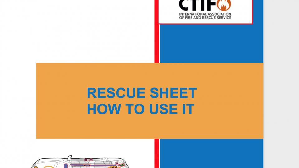 Header for the document about how to use rescue sheets