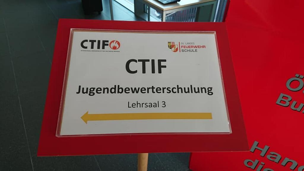 CTIF Youth Leaders´Sign from 2018.