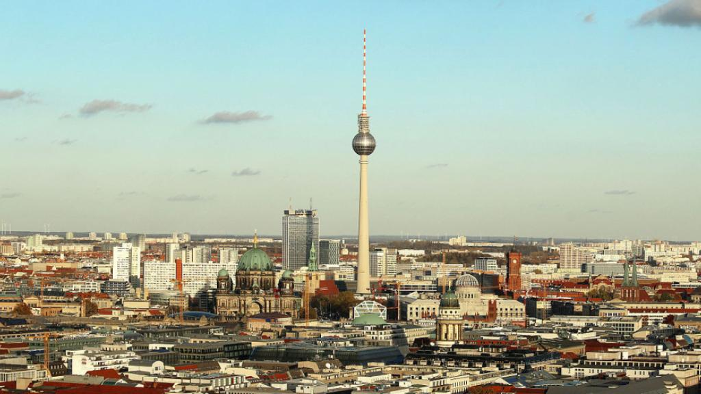 Berlin Skyline - Photo by Wikipedia Commons