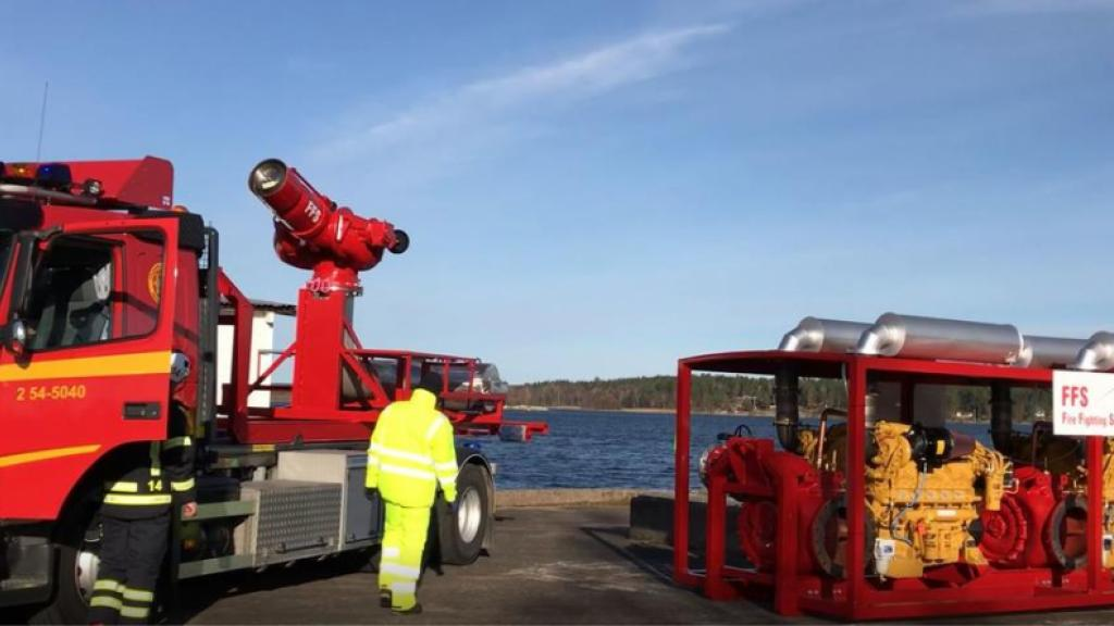 Firefighting Systems in Åmål, Sweden, claims to have developed the most powerful firefighting water canon in the world.