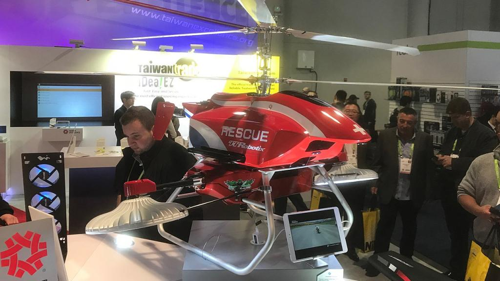 Thunder Tiger Sirius Search and Rescue Helicopter. Photo: Wikipedia