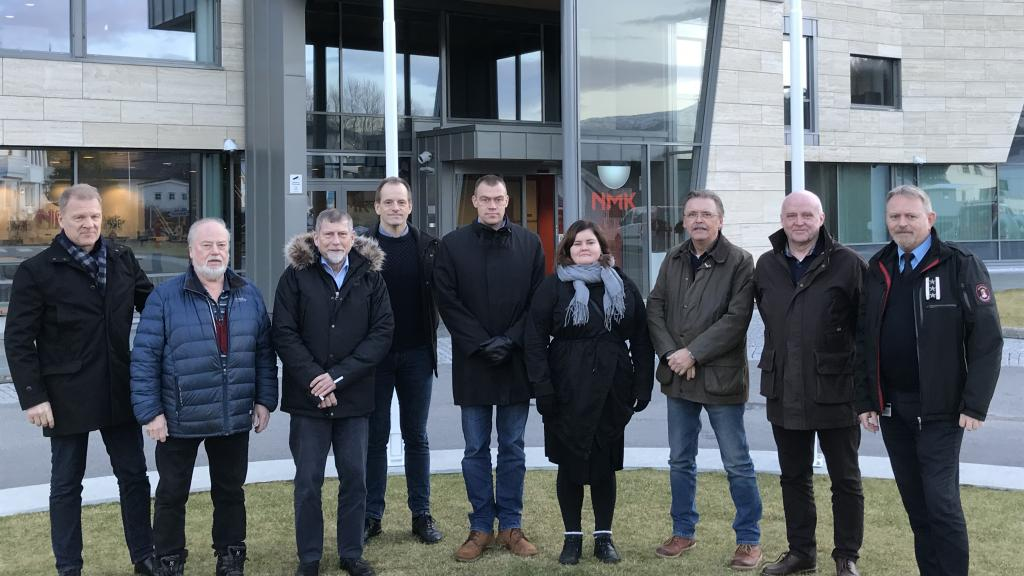 The CTIF delegates from Denmark, Finland, Norway and Sweden at the CTIF Norden meeting in January 2020.