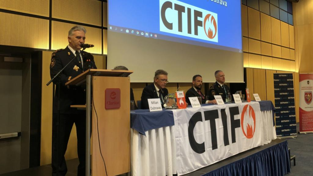 Opening of the CTIF Seminar in Ostrava, October 2019