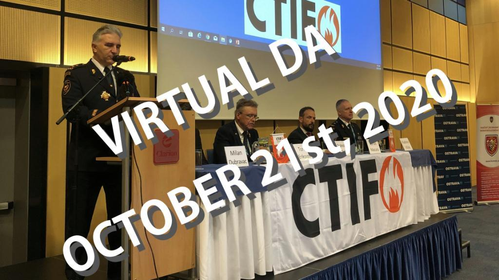 Virtual DA, October 21, 2020. Photo by Bjorn Ulfsson, CTIF