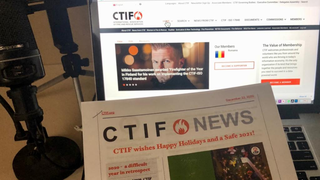 The December 2020 Newsletter from CTIF