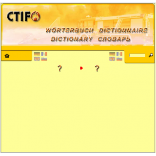 CTIF - Dictionnaire - Worterbuch - Dictionary - Словарь