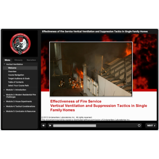 UL Firefighter Safety Research Institute - Effectiveness of Fire Service Vertical Ventilation and Suppression Tactics