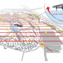 Mapping technique  - Safe viewing angle. Illustration from the IEDO Best Drone Pracitice Report 2020.